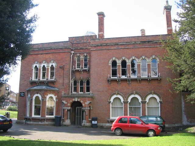 The library (rear)
