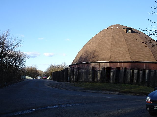 The salt dome, Farthing Corner Depot