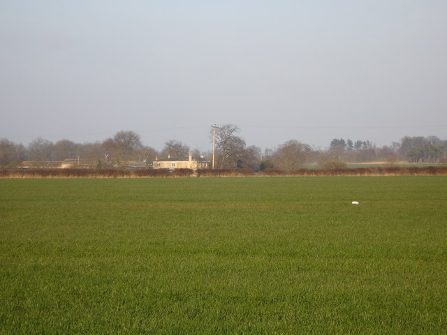 Farmland around Grange farm near Uffington
