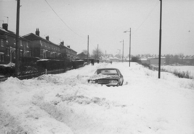 Gain Lane, February 1979
