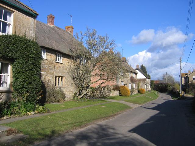 Cottages, Church Street, Lopen, Somerset