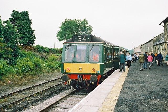 Wensleydale Railway reopens