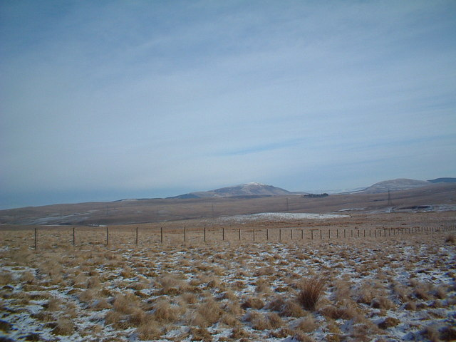 Moorland near Pagie Hill