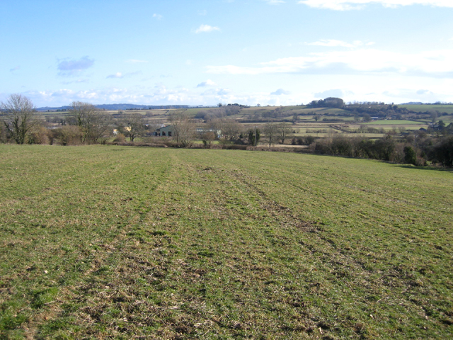 View SSE from above Lopen, Somerset