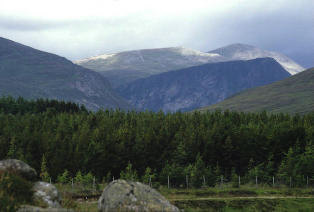 The Devil's Point and Cairn Toul