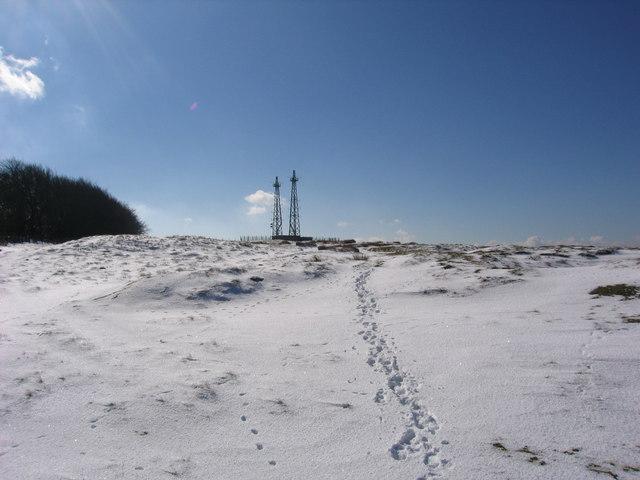 Navigational Relay Station, Clee Burf, Brown Clee.