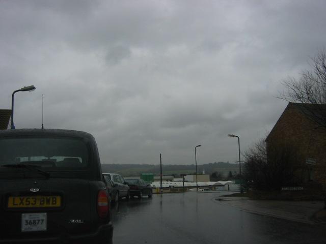 Dreary day over Corringham.