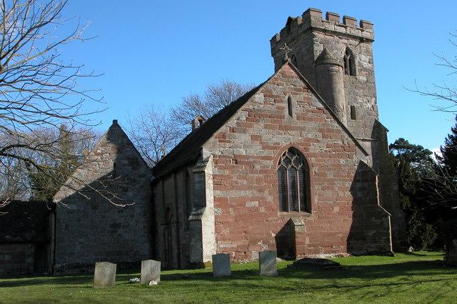 St Mary's church, Hampton Lovett