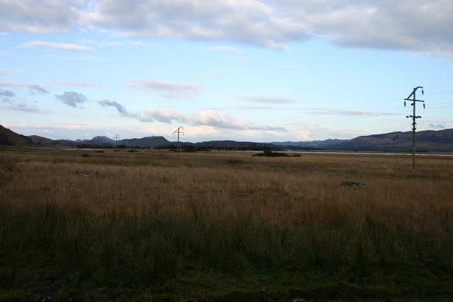 Moorland looking towards An Griannan.