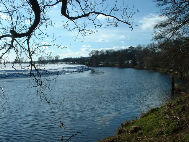 River Ribble near Hothersall Hall