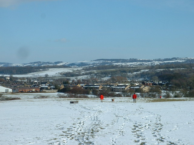 Ribchester in the snow