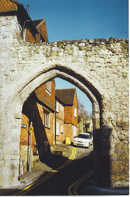 Castle Arch, Guildford.