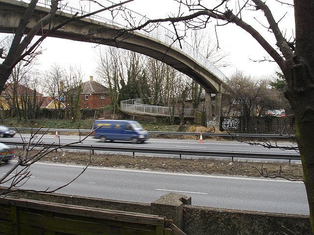 Footbridge on Teapot Lane