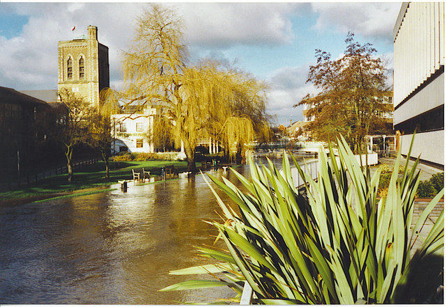 St Nicolas Church and High Wey