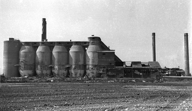 Stone Cement Works, 1974