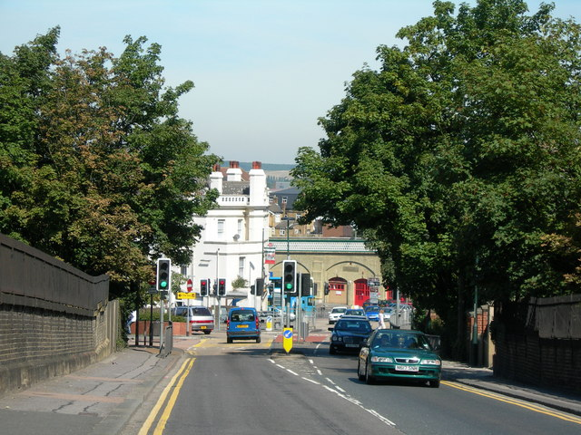 Maidstone Road near Chatham Station