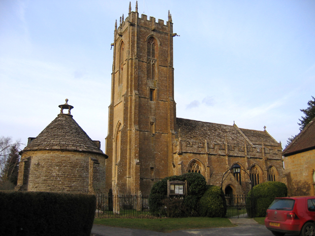 Parish church, Norton-sub-Hamdon, Somerset