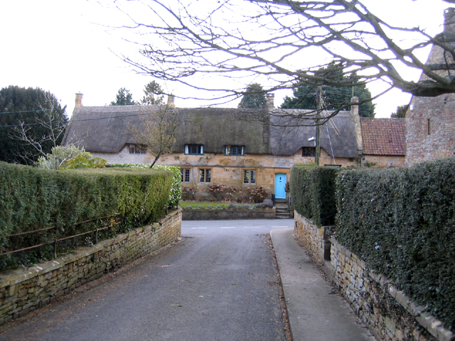 Cottages on Great Street, Norton-sub-Hamdon, Somerset