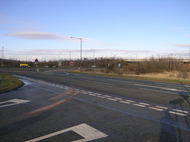 A50 A511 Junction
