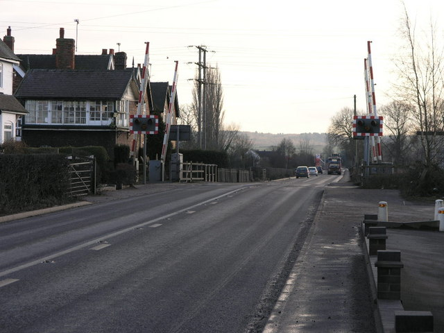 A515 Level Crossing