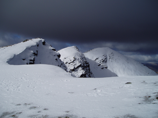 Summit Ridge of Ben Lomond