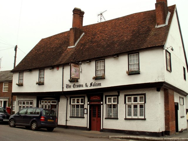 The Crown & Falcon, Puckeridge, Herts.