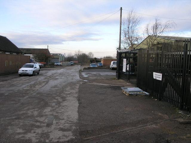 Fauld Industrial Estate
