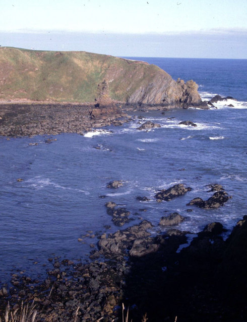 Garron Point seen across Craigeven Bay.