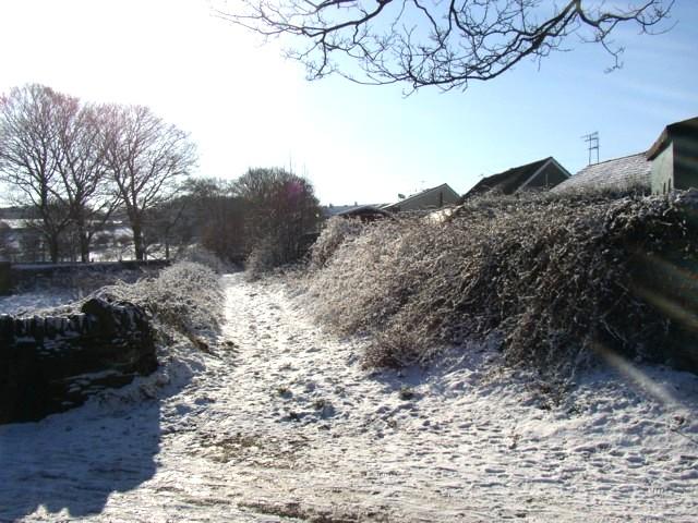 Track off Carr Green Lane, Rastrick (SE137210)