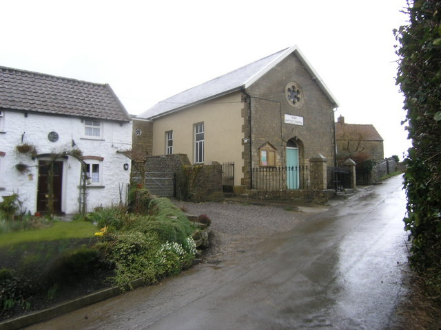 Dundry, Baptist Chapel at Maiden Head crossroads
