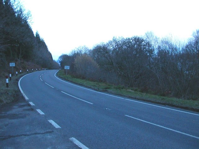 A83 north of Stonefield, Argyll.