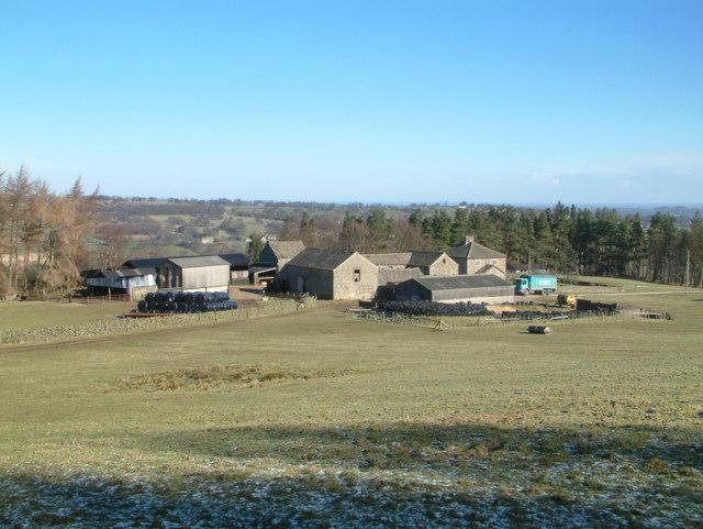 Low Knowle Farm near Ilton.