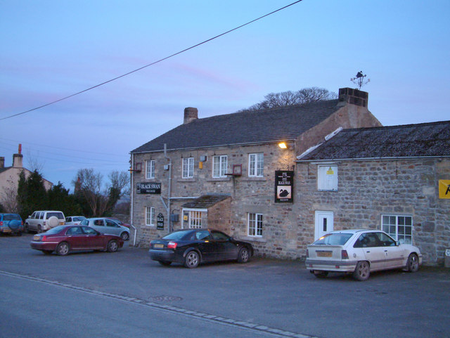 The Black Swan public house.