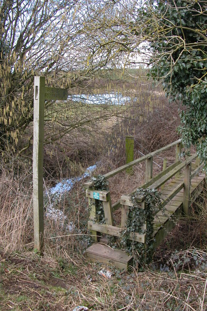 Footbridge, Doverdale