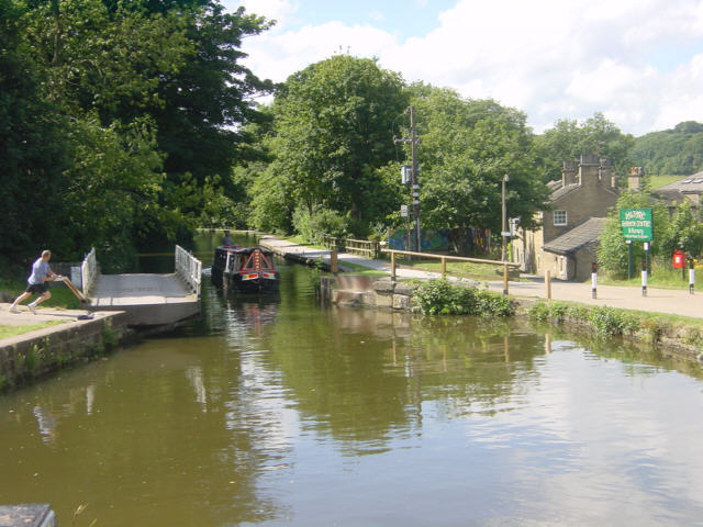 Hirst Mill Swing Bridge