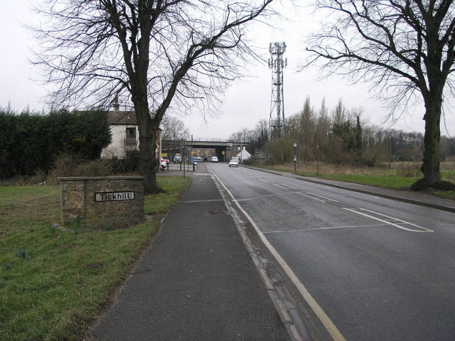 Tickhill from the East