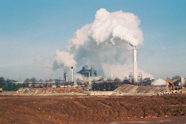 British Sugar Factory in Full Steam
