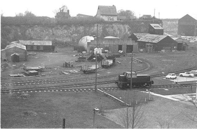West Thurrock Cement Industry 1974