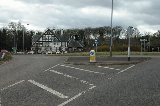 The Mitre Oak, Crossway Green