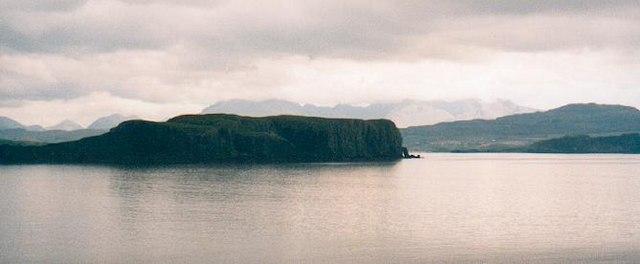 Tarner Island and Loch Bracadale