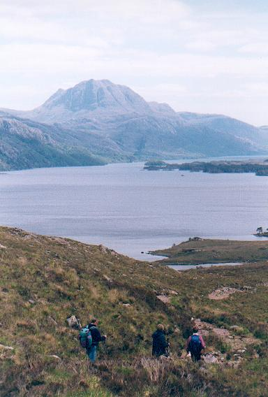 Descending to Loch Maree