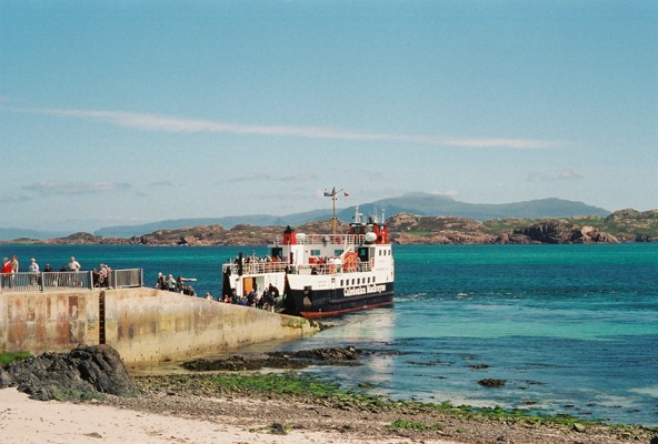 Iona to Fionnphort Ferry