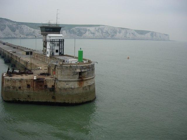 Dover (Kent) - white cliffs