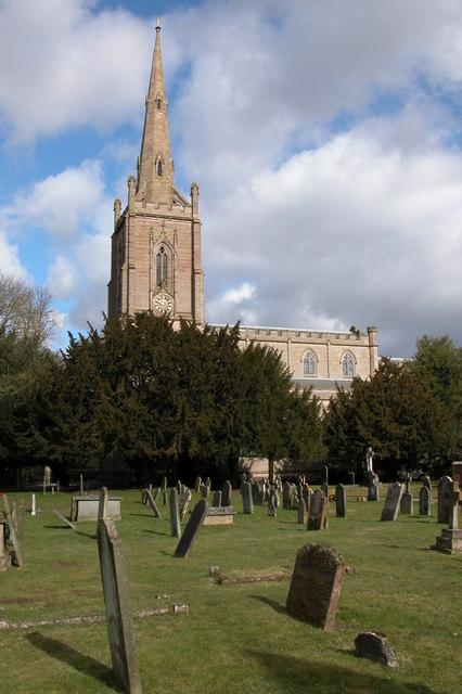 St Andrew's church, Ombersley