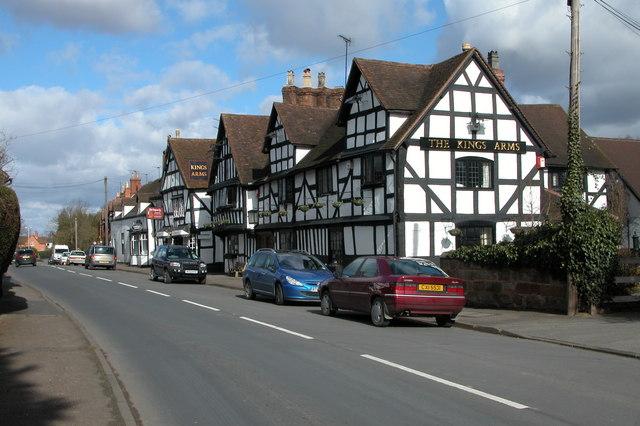 The Kings Arm, Ombersley