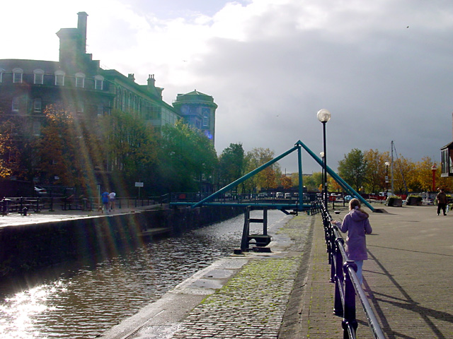 Bathurst Lock Swing Bridge