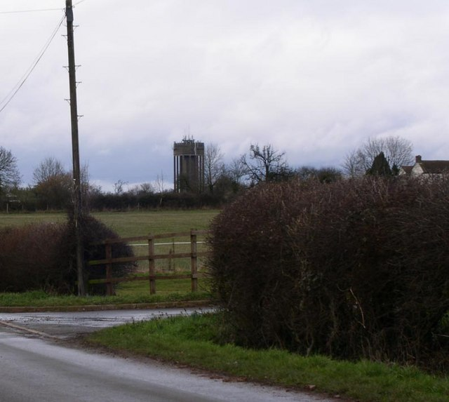Droitwich water tower