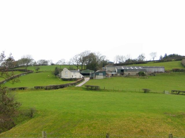 Hillside Farm at Fron Deg