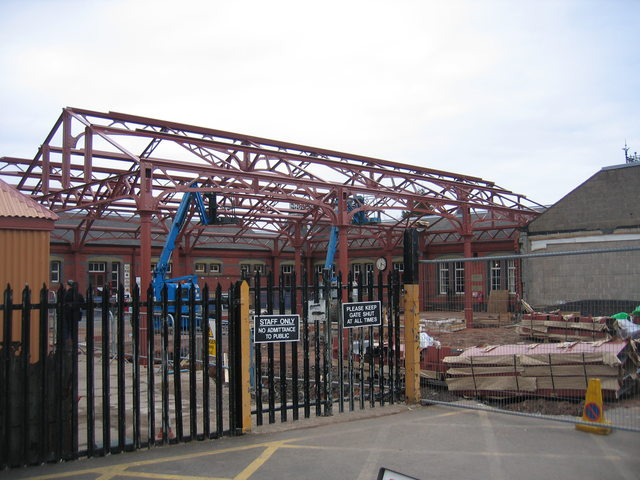 New Canopy at Kidderminster Town Station