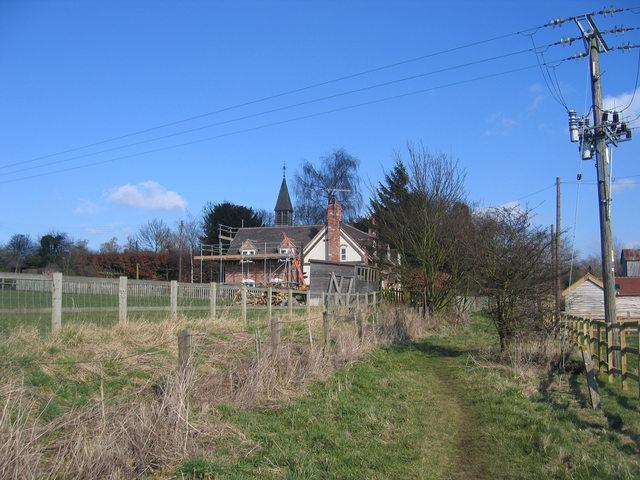 Wixford church house